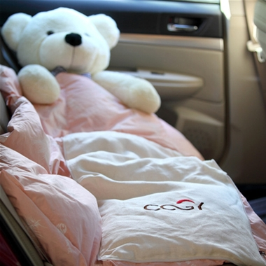 Down pillow quilt